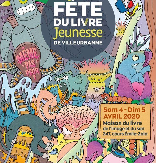 Fête du livre de Villeurbanne (2 au 5 avril 2020)